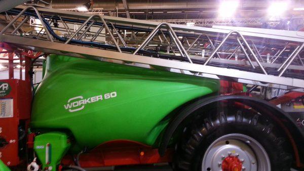 Pulvérisateur 36 mètres 6000 litres rampe inox